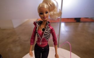 Barbie Video Girl s Chest Hosts a Camera, We Go, Erm Hands On