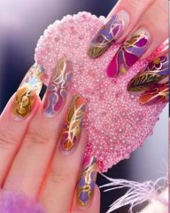 Beautiful nails for girls pictures   Di Candia Fashion