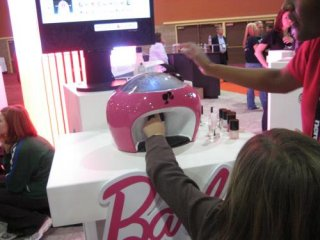 CES09: Barbie does your nails - The Technology Chronicles