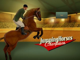 Jumping-horses-champions-show