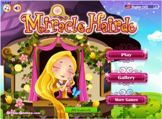 Princess Rapunzels Magic hair game - rapunzel haircut game for
