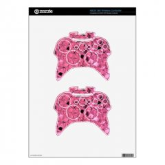 Shiny Metallic Girly Pink Diamond Sissy Sassy Xbox 360 Controller