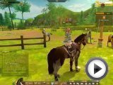 [Alicia online]‏ - Horse Mating(racing game)‪