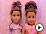 American Girl Fancy Bun Doll Hairstyles …