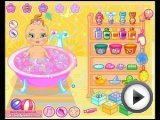 Baby Bathing Game for little kids Gameplay