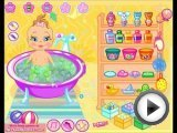 Baby Bathing video gameplay for little girls