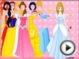 BARBIE DISNEY COSTUME GAME - …