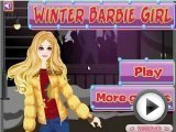 Barbie Winter Girl - Dress up Games