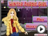 Barbie Winter Girl Dress up Games
