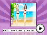 Best friends party for girls - play dress up …