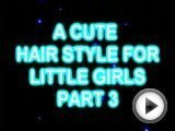 Cute Natural Hair Style For Little Girls Part …