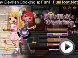 Devilish Cooking - Girls Game