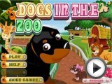 Dogs in the Zoo - Funny Animal Games