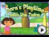 Dora Playtime with the Twins for little girls