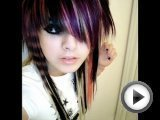 emo scene hair styles and makeup girls