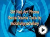 Girl Nail Art iPhone Game Source Code …