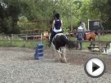 gymkhana game horse riding