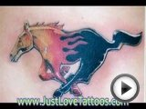 Horse and Pony Tattoo for Guys and Girls