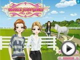 Horse Fan Girls - Dress Up Games