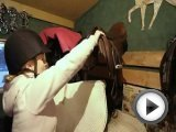 Horse Riding - Show Jumping Girl - …