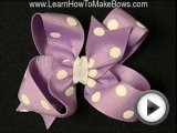 Let s Learn How to Make Girls Hair Bows for …