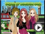 London Girls - Dress Up Games