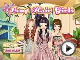 Long hair girls - fashion games