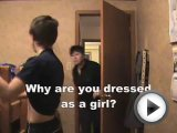 Mom walks in on boy dressed as a girl! …