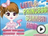 Princess Summer Hair Girl Games