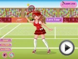 Tennis dress up games for girls