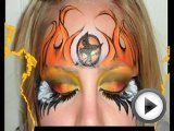 The Hunger Games Makeup - Girl on Fire