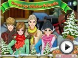 Winter Fashion Friends - dress up games